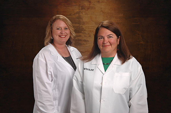 (L to R) Angela Fitch, APRN and Lisa Skinner, MD